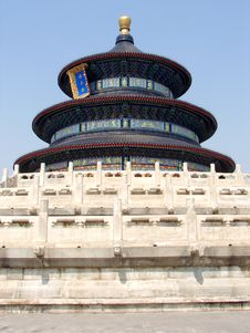 Free Temple Of Heaven In Beijing Royalty Free Stock Image - 3827136