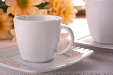 Beauty Porcelain Pottery Royalty Free Stock Images