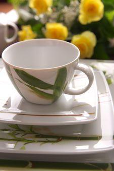 Beauty Porcelain Pottery Stock Photos