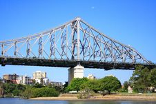 Free Brisbane Story Bridge Royalty Free Stock Photography - 3828517
