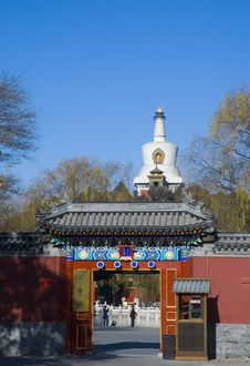 Free White Pagoda Royalty Free Stock Photos - 3829188
