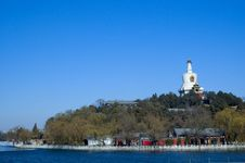 Free White Pagoda Royalty Free Stock Images - 3829189