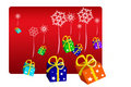 Free Snowing Gifts Stock Image - 3832631