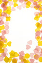 Free Frame Created By Hearts Stock Photography - 3839742