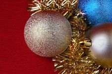 Free CHRISTMAS ORNAMENTS Royalty Free Stock Images - 3830679