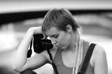Free Photographer Royalty Free Stock Photos - 3830988