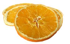 Dried Orange Royalty Free Stock Images
