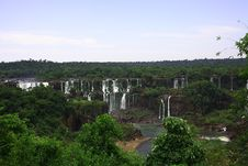 Free Iguassu (Iguazu; Iguaçu) Falls - Large Waterfalls Stock Images - 3831804