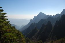 Mount Huangshan 1 Royalty Free Stock Photography