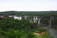 Free Iguassu (Iguazu; Iguaçu) Falls - Large Waterfalls Stock Photo - 3831960