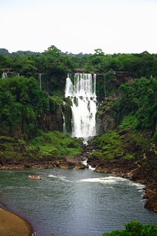 Free Iguassu (Iguazu; Iguaçu) Falls - Large Waterfalls Stock Photography - 3832582