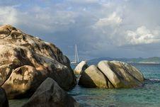 Free Sailing On The Rocks Royalty Free Stock Photos - 3832638
