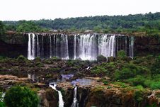 Free Iguassu (Iguazu; Iguaçu) Falls - Large Waterfalls Stock Photos - 3832813
