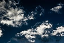 Sky With Clouds 5 Royalty Free Stock Photos