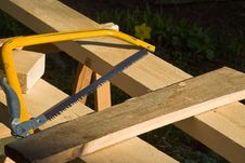 Free Sawing Royalty Free Stock Photography - 3833157