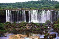 Free Iguassu (Iguazu; Igua�u) Falls - Large Waterfalls Stock Image - 3833171