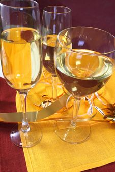 Free Glass Ready For Holiday Royalty Free Stock Photography - 3833237