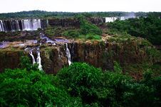 Free Iguassu (Iguazu; Igua�u) Falls - Large Waterfalls Royalty Free Stock Photography - 3833347