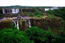 Free Iguassu (Iguazu; Igua�u) Falls - Large Waterfalls Stock Photography - 3833372