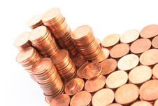Free Piles Of Coins Stock Images - 3833684