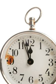 Free Alarm Clock Close Up Royalty Free Stock Photos - 3833738