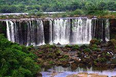 Free Iguassu (Iguazu; Iguaçu) Falls - Large Waterfalls Stock Photography - 3834682