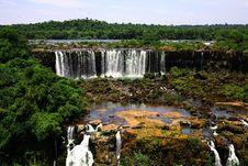 Free Iguassu (Iguazu; Iguaçu) Falls - Large Waterfalls Stock Photo - 3835090