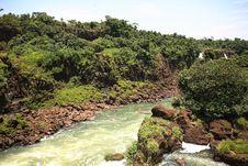 Free Iguassu (Iguazu; Iguaçu) Falls - Large Waterfalls Stock Images - 3835604