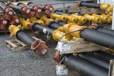 Stacks Of Hydrants Royalty Free Stock Photo