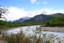 Free Patagonia Landscape, South Of Argentina Stock Photo - 3836090