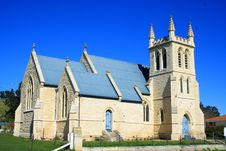 Free History Church In Small Town Royalty Free Stock Photo - 3836255