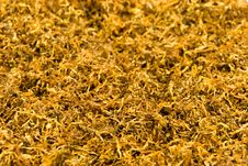 A Stack Of Tobacco-background Of Tobacco Royalty Free Stock Images