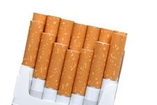 Free Pack Of Cigarettes Stock Photography - 3836552
