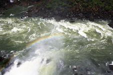 Free Iguassu (Iguazu; Igua�u) Falls - Large Waterfalls Royalty Free Stock Image - 3836686