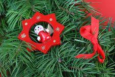 Free Christmas Decoration Royalty Free Stock Photo - 3837015