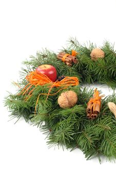 Free Advent Wreath Royalty Free Stock Photos - 3837038