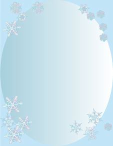 Free Snowflakes Background Stock Photos - 3837283