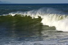 Free Surfer In The Barrel Stock Photos - 3837723