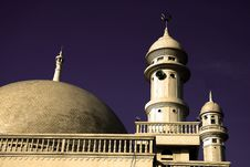 Free Mosque Architecture Royalty Free Stock Photos - 3837868