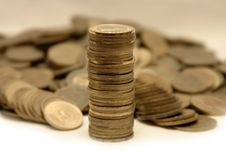 Free Coins Royalty Free Stock Images - 3837929
