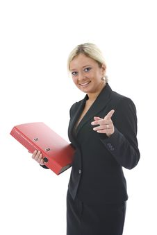 Free Bussines Woman  Working Royalty Free Stock Photos - 3838128