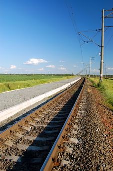 Free Railroad Track Stock Images - 3838964