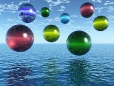 Free Balls Royalty Free Stock Photos - 3839198