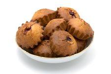 Free Tasty Cherry Cakes Royalty Free Stock Photo - 3839845