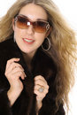 Free Wealthy Woman In Mink Coat Royalty Free Stock Photo - 3842185