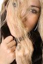 Free Beautiful Wealthy Blonde Hairshot Stock Photos - 3842263