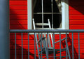 Free The Red Porch Royalty Free Stock Images - 3842919