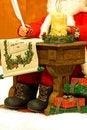 Free Santa Writing Christmas List Stock Image - 3843591