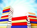 Free 3d Books Massive For Design Stock Images - 3844854