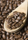 Free Wooden Spoon And Coffee Stock Images - 3845124